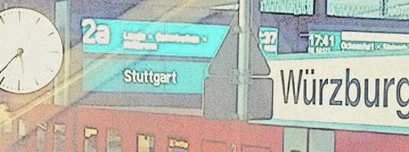 Fahrt nach Stuttgart