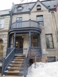 """""""La  maison des écrivains"""" in Montréal"""