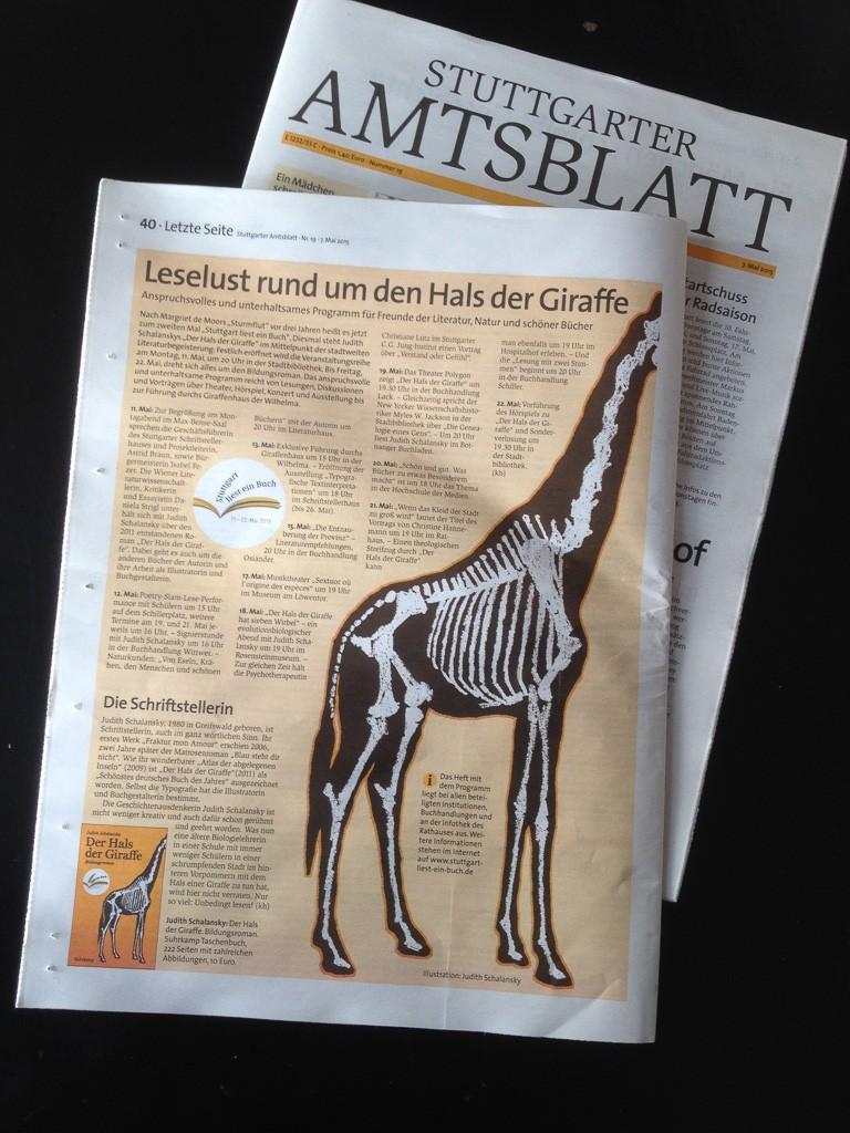 Stuttgarter Amtsblatt vom 7. Mai 2015