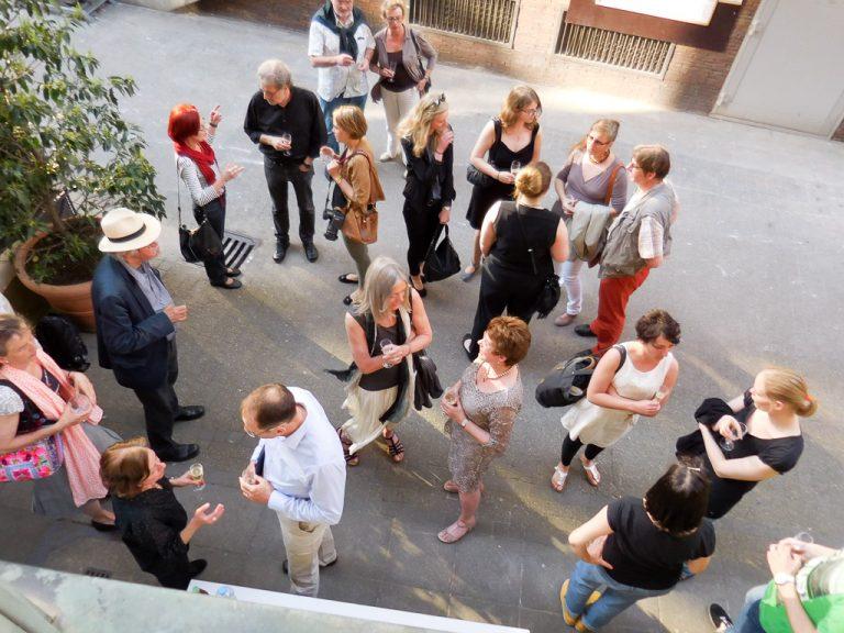Fotos und Film: Ausstellungseröffnung »Typografische Textinterpretationen«