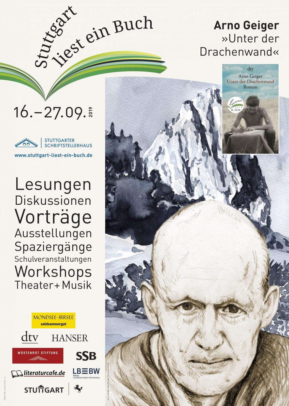 """Plakat zu """"Stuttgart liest ein Buch"""""""