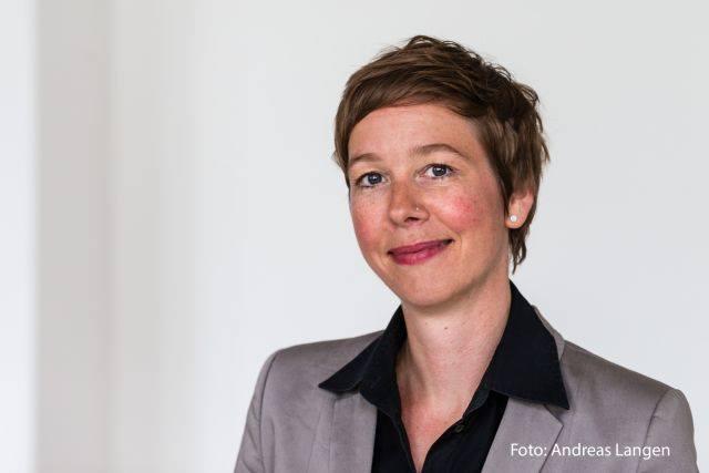 Stefanie Stegmann vom Literaturhaus Stuttgart