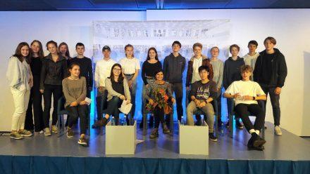 Klasse 10 b des Evangelischen Heidehof-Gymnasiums, Stuttgart