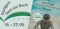 Stuttgart liest ein Buch 2019 - Arno Geiger: Unter der Drachenwand