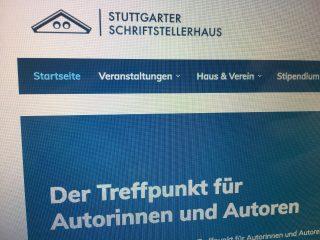 Das Stuttgarter Schriftstellerhaus mit neuer Website