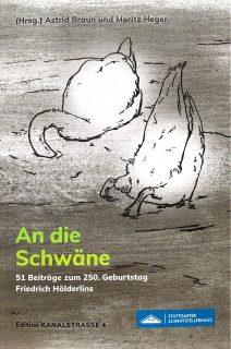 """Cover der Anthologie """"An die Schwäne"""""""