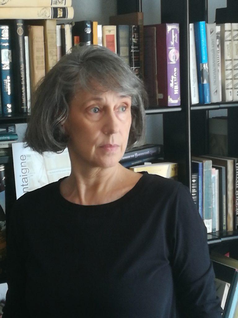 Vorstellung der Stipendiatin Olga Martynova im LIvestream