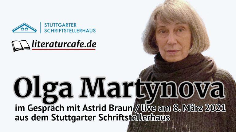 Aufzeichnung ansehen: Olga Martynova im Gespräch mit Astrid Braun