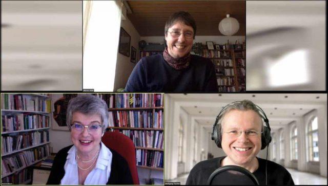 Moritz Hildt (oben) ist Gast im Podcast »Aus dem Häuschen«