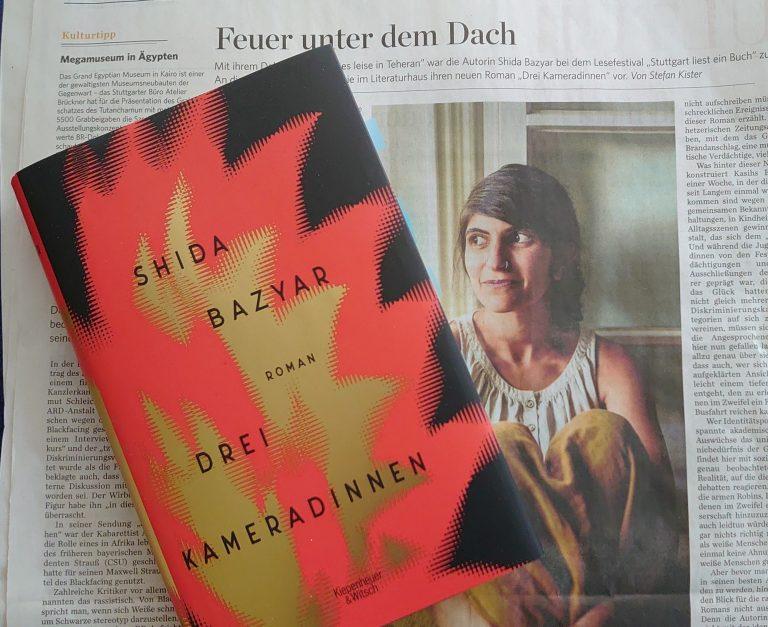 Shida Bazyar im Literaturhaus