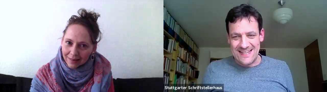 Marie T. Martin im Gespräch mit Moritz Heger