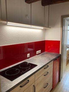 Neue Küche in der Stipendiatenwohnung © Astrid Braun